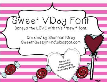 Sweet VDay Font