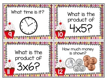 Sweet Valentine {Common Core Math Scoot}