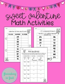 Sweet Valentine Math Activities