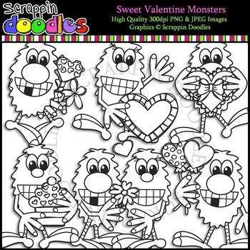 Sweet Valentine Monsters