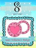 Sweet Valentine's Badges