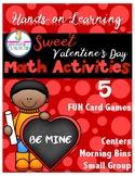 Sweet Valentine's Day Math Activities