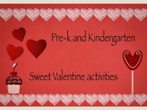Sweet Valentine's Day Activities for Pre-k and kindergarten