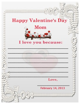 Sweet Valentine's for Dad and Mom