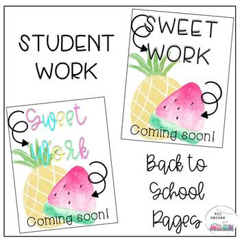 Sweet Work Coming Soon Posters
