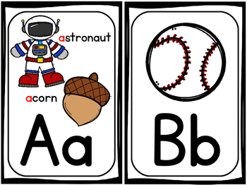 Alphabet Posters - Sweet and Simple