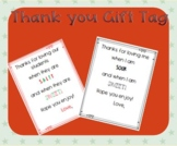 Sweet and Sour or Sweet and Salty Gift Tag for teachers and coworkers and teams