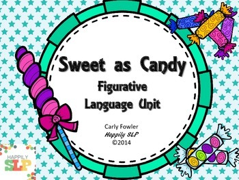Sweet as Candy Figurative Language