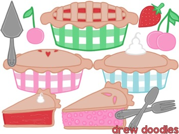 Sweet as Pie Digital Clip Art Set