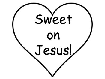 Sweet on Jesus - Valentine's Day - Religious Pack