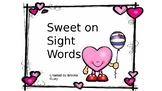 Sweet on Sight Words
