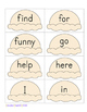 Sweet on Sight Words - A Reading Game