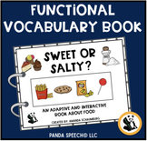 Sweet or Salty? An Adaptive and Interactive Book about Food