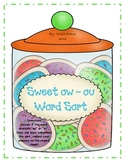 Sweet ow - ou Word Sort