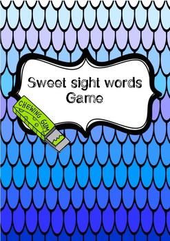 Sweet sight words GAME