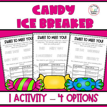 Sweet to Meet You: A Get to Know You Candy Ice Breaker - Follower FREEBIE