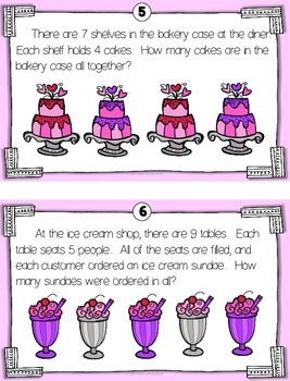 Sweeter By the Dozen Multiplication Math Hunt
