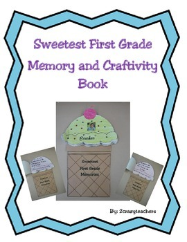 Sweetest First Grade Memory and Craftivity Book