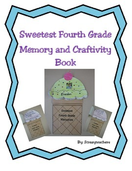 Sweetest Fourth Grade Memory and Craftivity Book