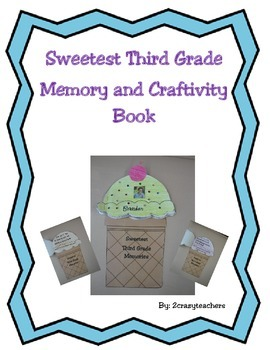 Sweetest Third Grade Memory and Craftivity Book