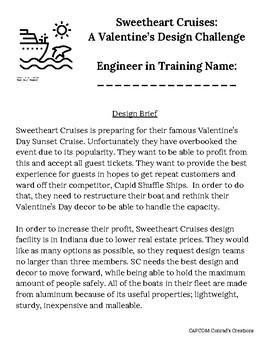 Sweetheart Cruises - Valentine's Themed Design Challenge