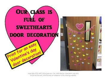 Sweetheart Door Decoration