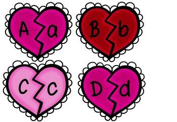 Sweetheart Letter Match
