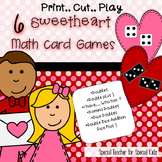 Sweetheart Math Card Games