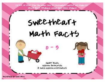 Sweetheart Math Facts 0-5