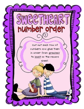 Sweetheart Number Order