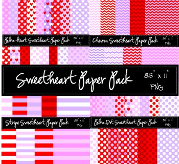 Sweetheart Paper Pack BUNDLE!