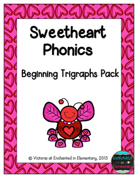 Sweetheart Phonics: Beginning Trigraphs Pack