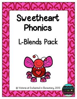 Sweetheart Phonics: L-Blends Pack