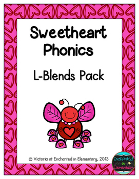 Sweetheart Phonics: L-Blends Pack