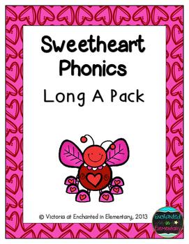 Sweetheart Phonics: Long A Pack