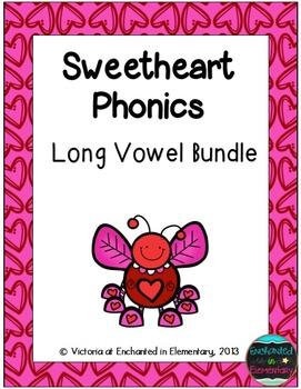 Sweetheart Phonics: Long Vowel Bundle