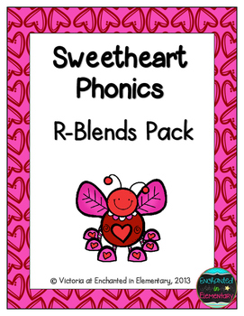 Sweetheart Phonics: R-Blends Pack
