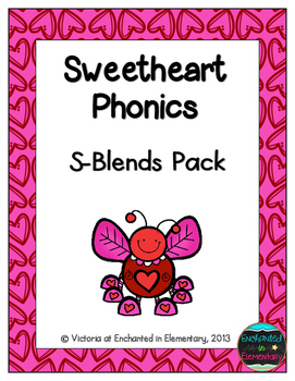 Sweetheart Phonics: S-Blends Pack