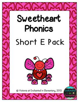 Sweetheart Phonics: Short E Pack