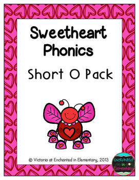 Sweetheart Phonics: Short O Pack