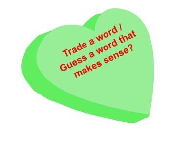 Sweetheart Reading Strategies Bulletin Board Idea Valentine's Day