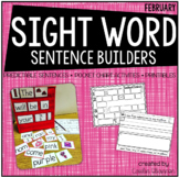 Sentence Building {Sight Word Activities for February}