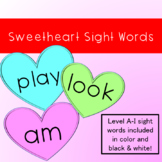 Sweetheart Sight Words