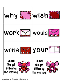 Sweetheart Sight Words! Second Grade List Pack