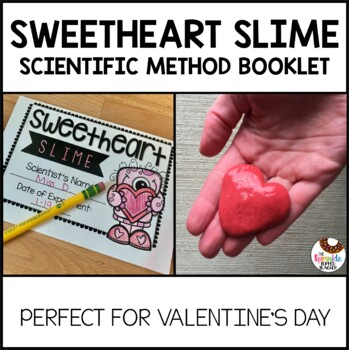 Sweetheart Slime Valentine's Day Science with the Scientific Method