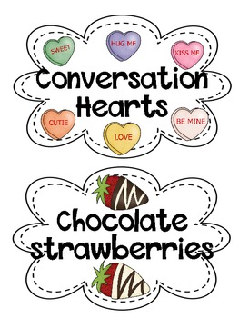 Sweetheart Snack:  A Valentine Party & Activity Pack