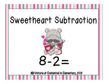 Sweetheart Subtraction! Subtraction Facts Practice