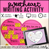 Sweetheart Valentine Writing Activity