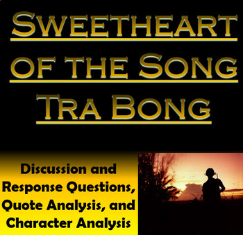 Sweetheart of the Song Tra Bong from O'Brien's The Things They Carried (AP Lang)