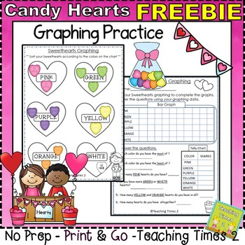 Candy Hearts Graphing Fun